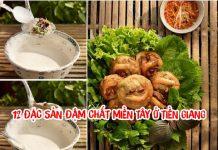 12 đặc sản đậm chất miền Tây ở Tiền Giang