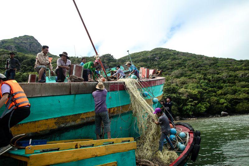 Bão Tembin gây thiệt hại 12 tàu cá Tiền Giang, Bến Tre và Vũng Tàu