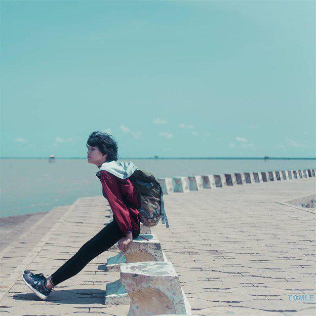 Bờ kè Biển Tân Thành