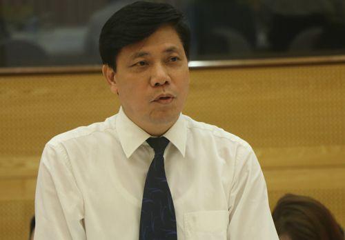 Thứ trưởng Giao thông Vận tải Nguyễn Ngọc Đông. Ảnh: HT