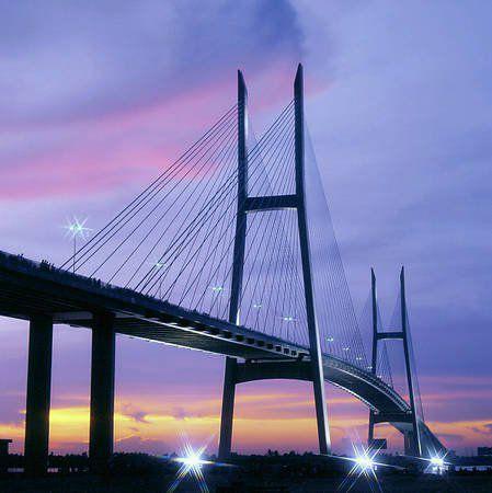 Cầu Mỹ Thuận nối liền Tiền Giang - Vĩnh Long