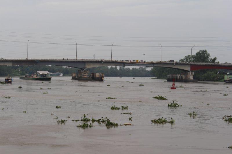 Cầu Tân An 1 thông xe trước Tết Dương lịch. Ảnh: Hải Đường