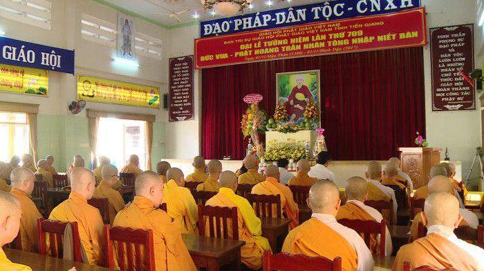 Chùa Vĩnh Trang - Tiền Giang Kỷ niệm 709 năm ngày Phật hoàng Trần Nhân Tông nhập niết bàn