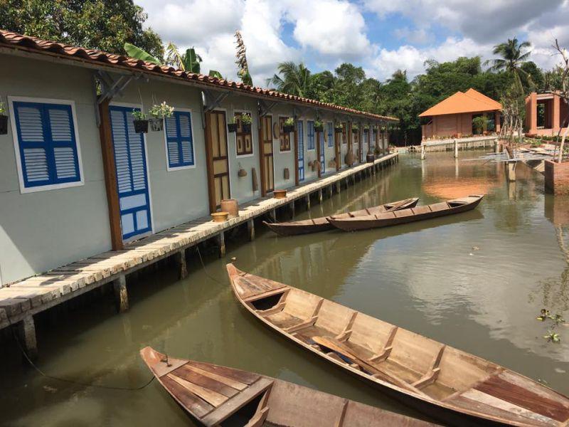Điền Lan Thôn Trang tái hiện lại khung cảnh miền Tây sông nước hữu tình