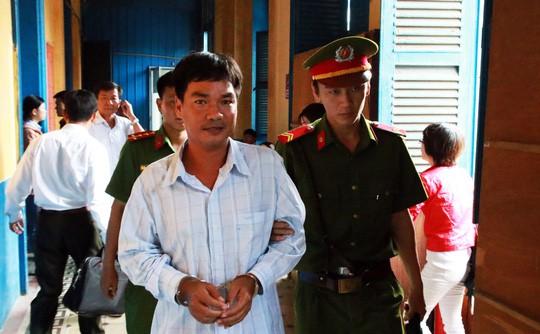 Bị cáo Nguyễn Thành Đoàn.