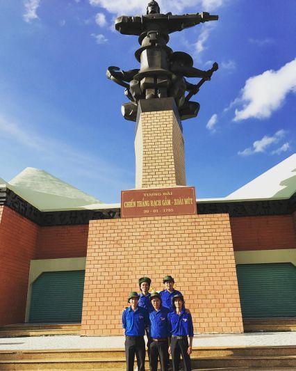 Tượng đài Quang Trung - Khu di tích Rạch Gầm Xoài Mút Tiền Giang