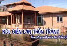 Khu du lịch Điền lan thôn Trang Tiền Giang