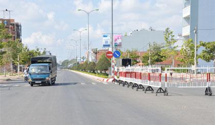 Mỹ Tho thông báo điều tiết giao thông trên đường Hùng Vương