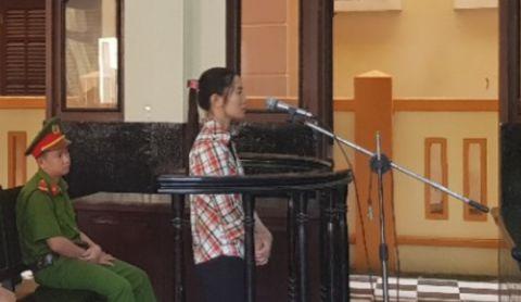 Bị Cáo Trần Thị Tuyết tại tòa