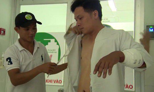 Anh Vương Quốc Tân bị thương tích 9%