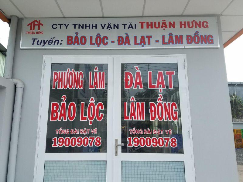 Số điện thoại đặt vé xe đi Đà Lạt - Thuận Hưng