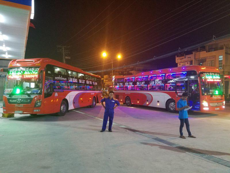 Xe khách Mỹ Tho - Đà Lạt - Thuận Hưng