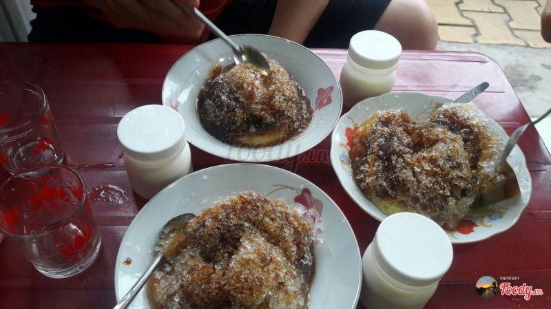 Ăn vặt Tiền Giang - Flan không tên
