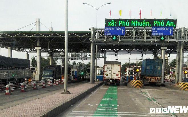 Tròn 1 tháng xả trạm theo lệnh Thủ tướng, BOT Cai Lậy vẫn chưa có thời gian thu phí trở lại.