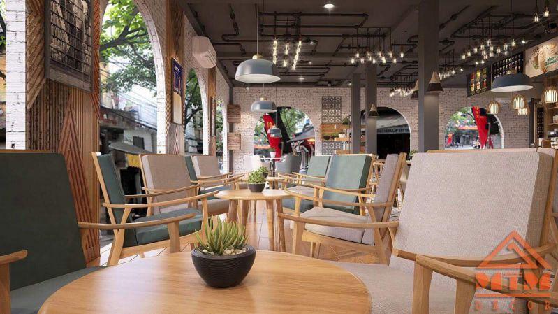 Đại Việt Bookstore & Coffee Mỹ Tho được thiết kế với không gian mở cho bạn nhìn ngắm và tận hưởng không khí bên ngoài
