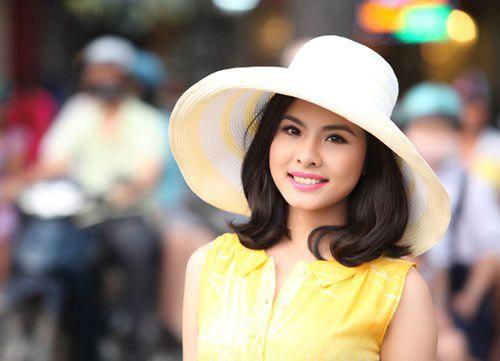 Diễn viên Vân Trang.