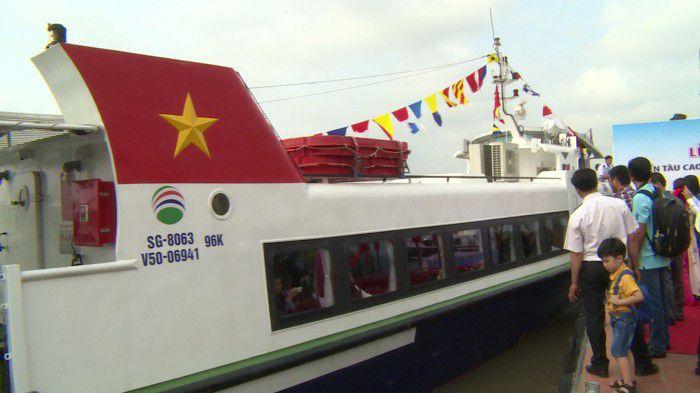 Khai trương tuyến tàu cao tốc Bến Tre - Mỹ Tho - Vũng Tàu chỉ 290.000 đồng