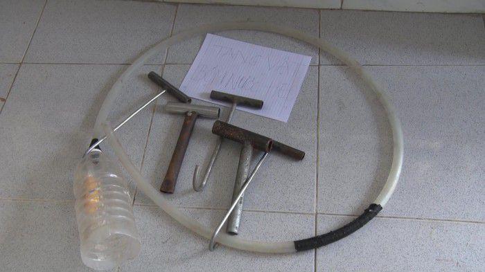 Phát hiện cơ sở ở Chợ Gạo Tiền Giang bơm nước vô heo trước khi giết mổ