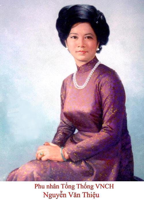 Phu nhân tổng thống Nguyễn Văn Thiệu - Nguyễn Thị Mai Anh