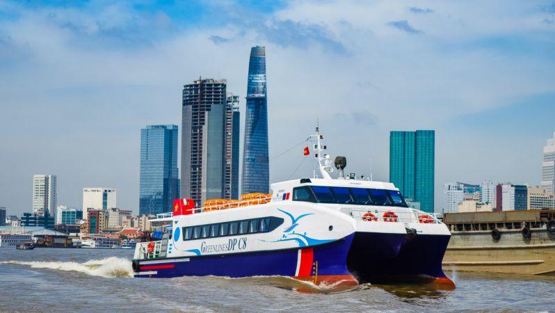 Tàu cao tốc Sài Gòn - Cần Giờ - Vũng Tàu sắp hoạt động, phục vụ dịp Tết