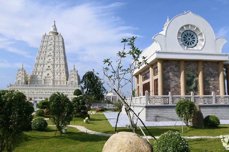 Phật Thánh Tích Tứ Động Tâm - Thiền Viện Trúc Lâm Chánh Giác