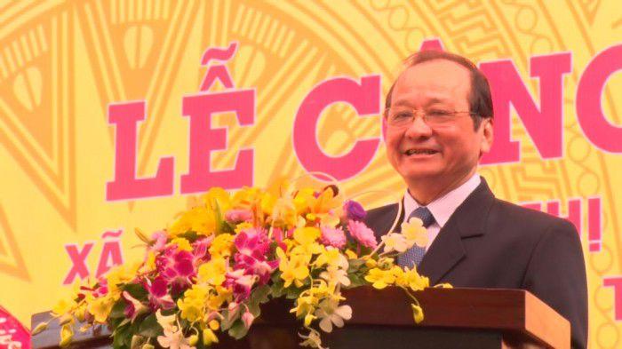 Ông Trần Thanh Đức – Phó chủ tịch UBND tỉnh phát biểu tại buổi lễ.