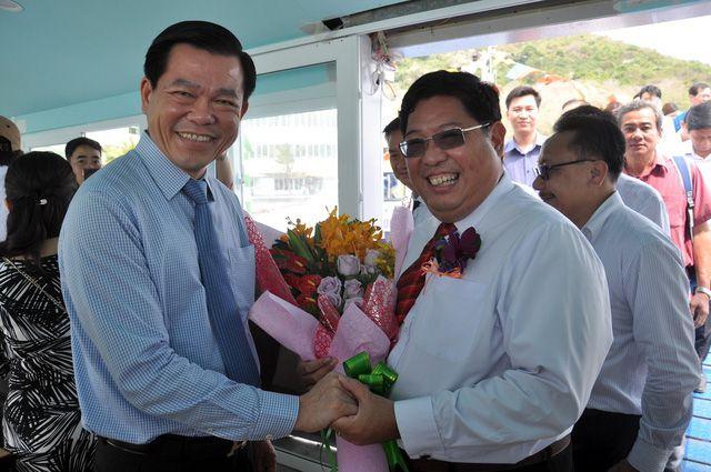 Khai trương tàu cao tốc kết nối Vũng Tàu với Tiền Giang, Bến Tre