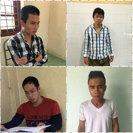 Tóm gọn 4 tên chuyên trộm xe tay ga đắt tiền ở Tiền Giang