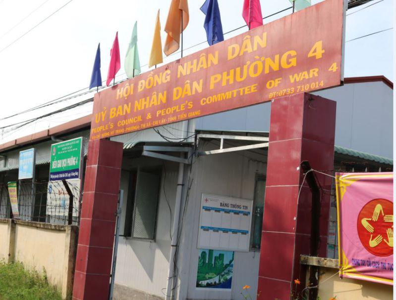 Tiền Giang: Chủ tịch phường bị tố quyết toán khống ngân sách