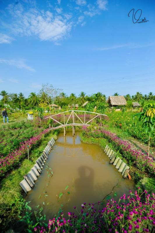 Vườn Hoa Mộc Thiên Hoa Mỹ Tho, Tiền Giang