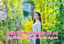 Vườn Hoa Mộc Hoa Thiên Mỹ Tho, Tiền Giang