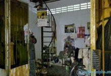 Căn nhà nơi phát hiện thi thể ông Trịnh Minh Tường. Ảnh: Tiền Phong