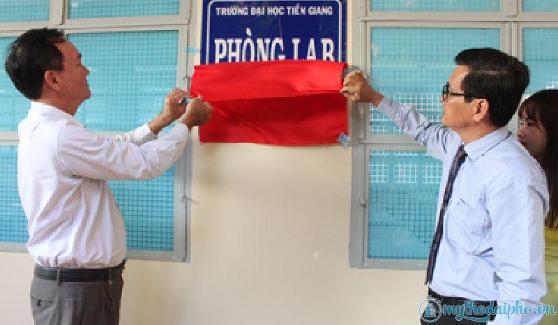 Trường Đại học Tiền Giang khánh thành Phòng Lab do VNPT tài trợ
