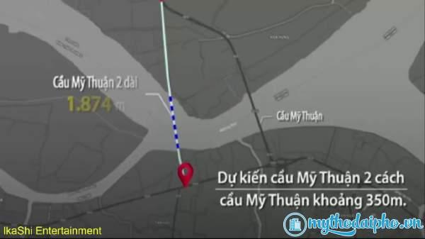 Cầu Mỹ Thuận 2 với vốn 5.200 tỷ đồng sắp khởi công