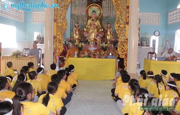 Chùa Tam Bảo Cái Bè - Tiền Giang khai mạc Khóa tu mùa hè