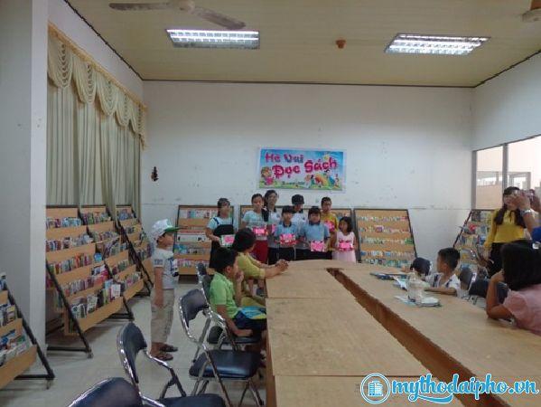 Thư Viện tỉnh Tiền Giang tổ chức chương trình