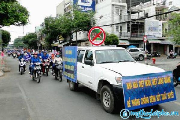 Tiền Giang mít tinh Hưởng ứng ngày ASEAN phòng chống sốt xuất huyết