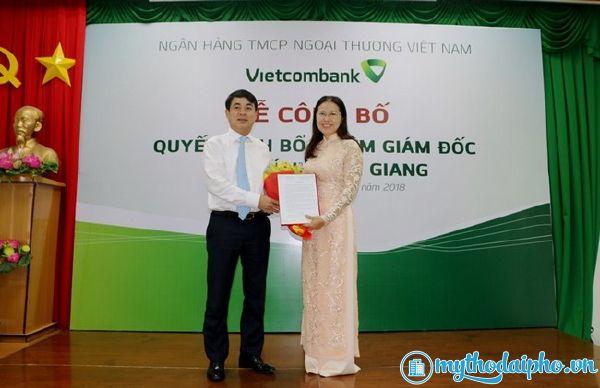 Vietcombank bổ nhiệm giám đốc chi nhánh Tiền Giang