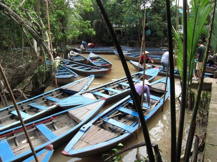 Những chiếc ghe thuyền gắn liền với cuộc sống người Tiền Giang