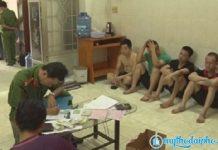 Công An Tiền Giang tạm giữ hình sự 7 người nghi vấn cho vay nặng lãi