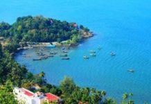 Biển Mũi Nai - Hà Tiên nhìn từ trên cao