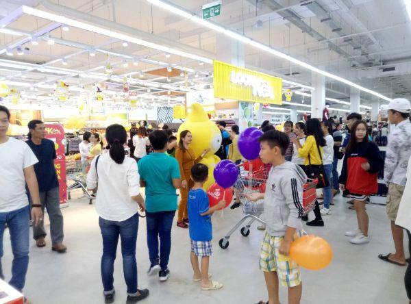 Siêu thị Big C Mỹ Tho - Tiền Giang ngày khai trương 28/10/2018