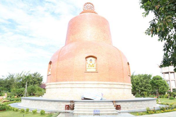 Thiền Viện Trúc Lâm Chánh Giác Tiền Giang - Thánh Tích Phạt Giáo Tứ Động Tâm