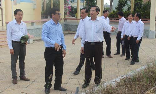 Thường trực UBND tỉnh làm việc tại Trường Đại học Tiền Giang cơ sở Thân Cửu Nghĩa.