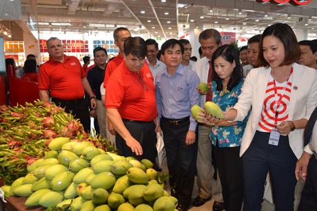Nhiều sản phẩm nông nghiệp của Tiền Giang có mặt tại