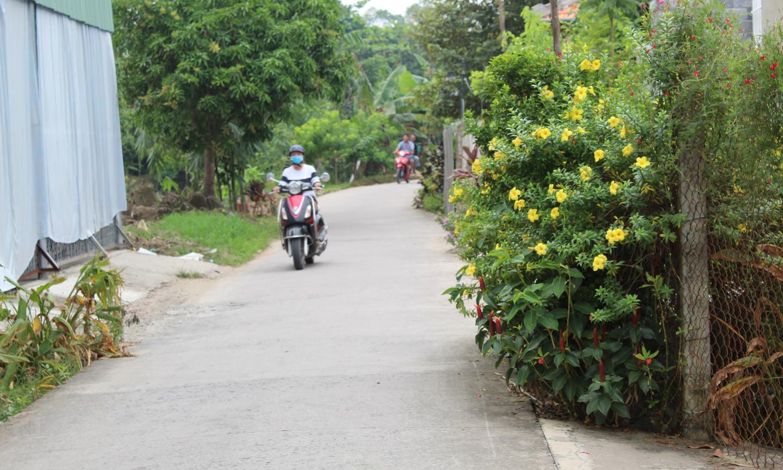 Cảnh quan môi trường của xã Đông Hòa Hiệp xanh - sạch - đẹp.