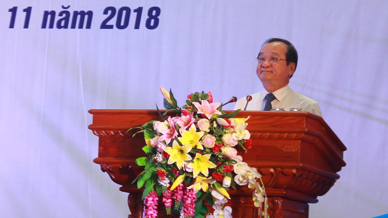Phó Chủ tịch UBND tỉnh Tiền Giang Trần Thanh Đức phát biểu khai mạc.