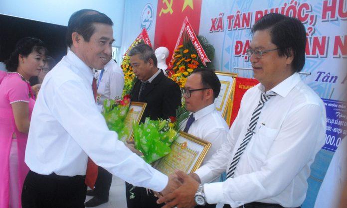 Huyện Gò Công Đông ra mắt xã nông thôn mới thứ 6
