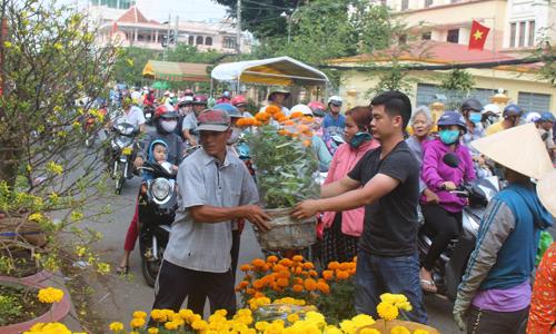 Chợ hoa xuân TP. Mỹ Tho năm 2019 dự kiến sẽ được tổ chức tại 2 điểm.