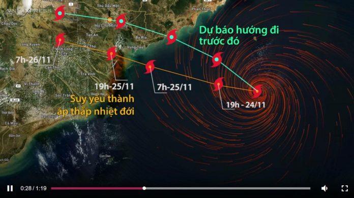 Tin mới nhất về cơn bão